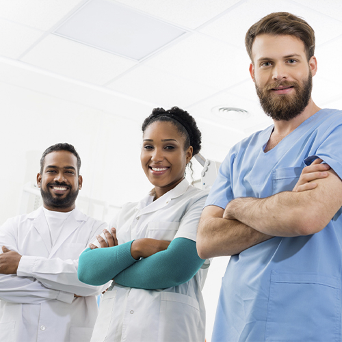Group of doctors.